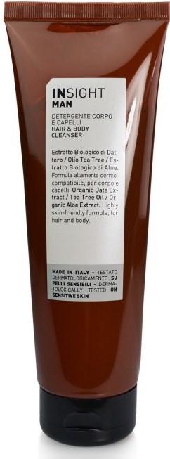 Insight přírodní mýdlo na tělo a vlasy pro muže 250 ml