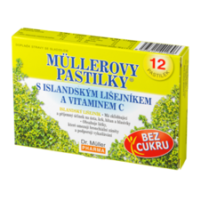 Dr. Müller Müller lozenges with Isladian lichen and vitamin C without sugar