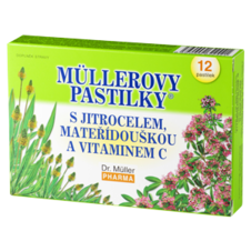 Dr. Müller Müller lozenges® with plantain, thyme and vitamin C (bronchi)