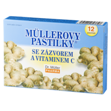 Dr. Müller Müller lozenges® with ginger and vitamin C (heating)