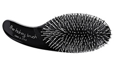 Olivia Garden black hair brush with boar and nylon bristles finished with a ball