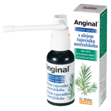 Dr. Müller Anginal® oral spray with Australian tea tree oil