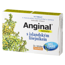 Dr. Müller Anginal® tablets with Icelandic lichen