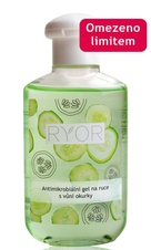 RYOR Antimicrobial hand gel with the scent of cucumber 150 ml