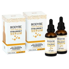 BODYBE HYALURON 7 SERUM 7% kyselina hyaluronová Double Pack 2x50ml