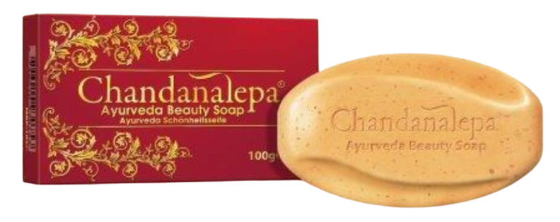 Chandanalepa herbal soap for smooth skin 100g