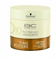 Schwarzkopf Time Restore Treatment mask obnovující kúra na vlasy 200 ml