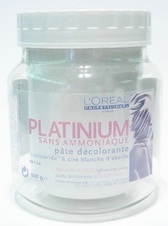L´oreal Platinium decolorante highlighting paste without ammonia 500 g