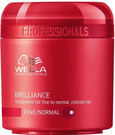 Wella Brilliance maska pro barvené vlasy 150 ml Silné - barevné vlasy