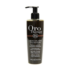 Fanola Oro Therapy color chocolate mask to revive brown hair 250ml