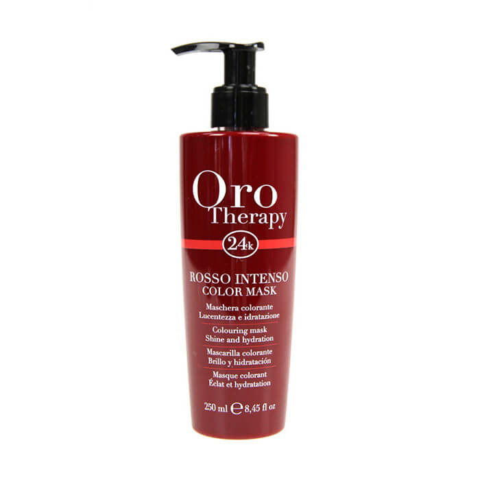 Oro Therapy barevná maska 250ml Roso Intenso