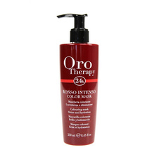 Fanola Oro Therapy color red mask Roso Intenso to revive the color 250ml