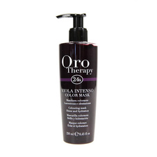 Fanola Oro Therapy Violet intenso color mask to revive hair color 250ml