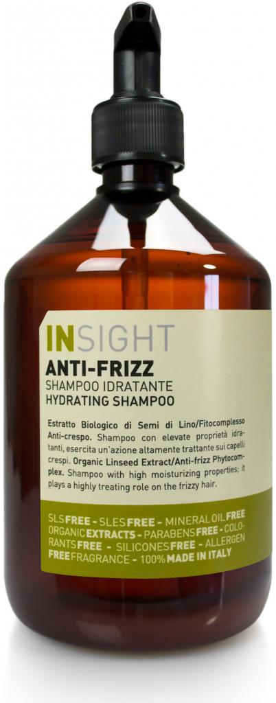 Insight Anti-frizz přírodní šampon pro vlnité vlasy 400 ml