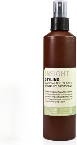 INSIGHT STYLING STRONG HOLD ECOSPRAY 250 ML - SILNĚ TUŽÍCÍ LAK NA VLASY