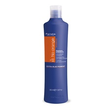 Fanola No Orange hair shampoo to neutralize copper or red highlights