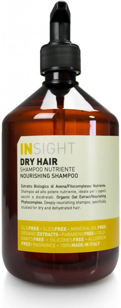 Insight Dry hair přírodní šampon pro suché vlasy 500 ml