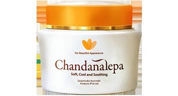 Chandanalepa kurkumový krém na obličej 40 g