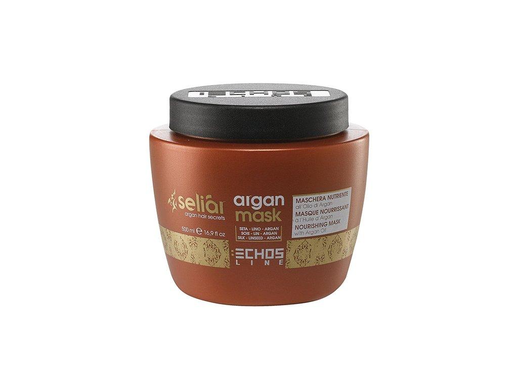 Echosline Seliár Argan maska na vlasy s arganovým olejem 500 ml